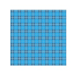The Checkered Tablecloth Small Satin Scarf (square)