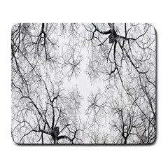 Tree Knots Bark Kaleidoscope Large Mousepads