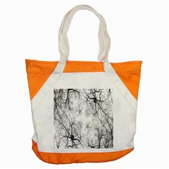 Tree Knots Bark Kaleidoscope Accent Tote Bag