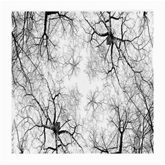 Tree Knots Bark Kaleidoscope Medium Glasses Cloth (2-Side)