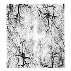 Tree Knots Bark Kaleidoscope Shower Curtain 66  x 72  (Large)