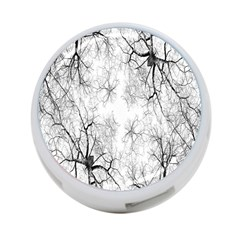 Tree Knots Bark Kaleidoscope 4-Port USB Hub (Two Sides)