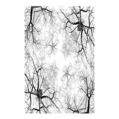 Tree Knots Bark Kaleidoscope Shower Curtain 48  x 72  (Small)