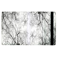 Tree Knots Bark Kaleidoscope Apple iPad 3/4 Flip Case