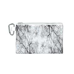 Tree Knots Bark Kaleidoscope Canvas Cosmetic Bag (S)