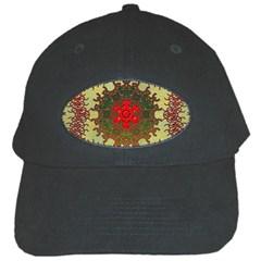 Tile Background Image Color Pattern Black Cap