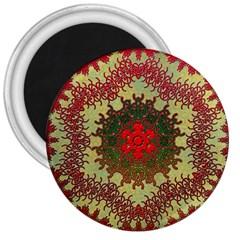 Tile Background Image Color Pattern 3  Magnets