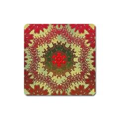 Tile Background Image Color Pattern Square Magnet