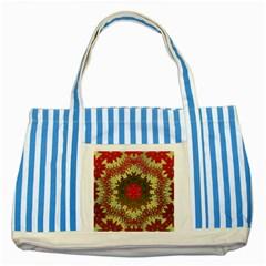 Tile Background Image Color Pattern Striped Blue Tote Bag