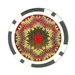 Tile Background Image Color Pattern Poker Chip Card Guard (10 Pack)