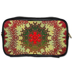 Tile Background Image Color Pattern Toiletries Bags