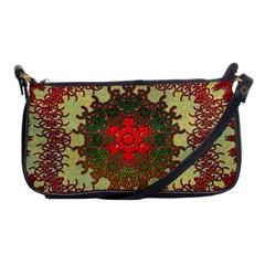 Tile Background Image Color Pattern Shoulder Clutch Bags