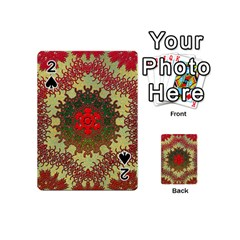 Tile Background Image Color Pattern Playing Cards 54 (mini)
