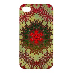 Tile Background Image Color Pattern Apple Iphone 4/4s Hardshell Case