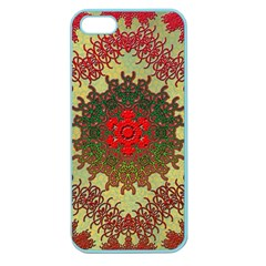 Tile Background Image Color Pattern Apple Seamless Iphone 5 Case (color)