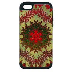Tile Background Image Color Pattern Apple Iphone 5 Hardshell Case (pc+silicone)
