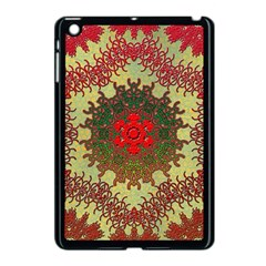 Tile Background Image Color Pattern Apple iPad Mini Case (Black)