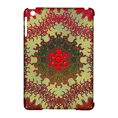 Tile Background Image Color Pattern Apple Ipad Mini Hardshell Case (compatible With Smart Cover)