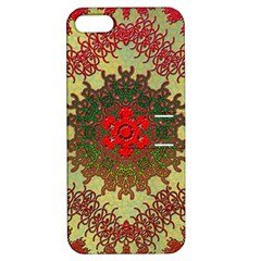Tile Background Image Color Pattern Apple iPhone 5 Hardshell Case with Stand