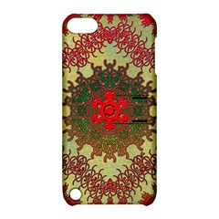 Tile Background Image Color Pattern Apple Ipod Touch 5 Hardshell Case With Stand