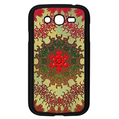 Tile Background Image Color Pattern Samsung Galaxy Grand DUOS I9082 Case (Black)
