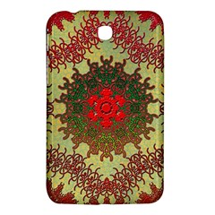 Tile Background Image Color Pattern Samsung Galaxy Tab 3 (7 ) P3200 Hardshell Case