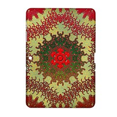 Tile Background Image Color Pattern Samsung Galaxy Tab 2 (10 1 ) P5100 Hardshell Case