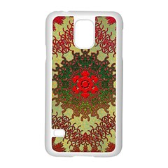 Tile Background Image Color Pattern Samsung Galaxy S5 Case (white)