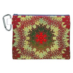 Tile Background Image Color Pattern Canvas Cosmetic Bag (xxl)