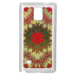 Tile Background Image Color Pattern Samsung Galaxy Note 4 Case (white)