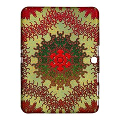 Tile Background Image Color Pattern Samsung Galaxy Tab 4 (10 1 ) Hardshell Case