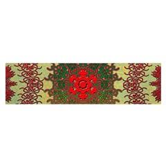 Tile Background Image Color Pattern Satin Scarf (Oblong)