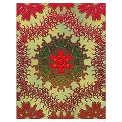 Tile Background Image Color Pattern Drawstring Bag (large)