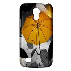 Umbrella Yellow Black White Galaxy S4 Mini