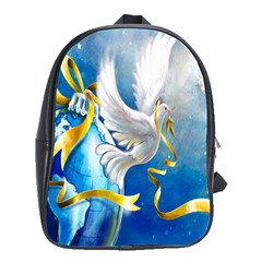 Turtle Doves Christmas School Bags(Large)