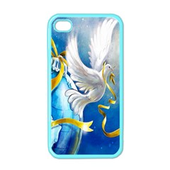 Turtle Doves Christmas Apple iPhone 4 Case (Color)