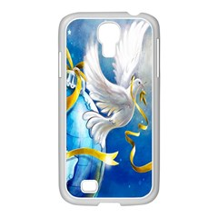 Turtle Doves Christmas Samsung Galaxy S4 I9500/ I9505 Case (white)
