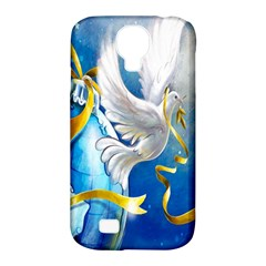 Turtle Doves Christmas Samsung Galaxy S4 Classic Hardshell Case (pc+silicone)