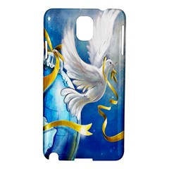 Turtle Doves Christmas Samsung Galaxy Note 3 N9005 Hardshell Case