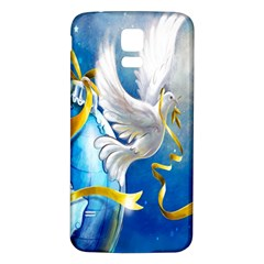 Turtle Doves Christmas Samsung Galaxy S5 Back Case (white)