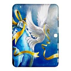 Turtle Doves Christmas Samsung Galaxy Tab 4 (10.1 ) Hardshell Case