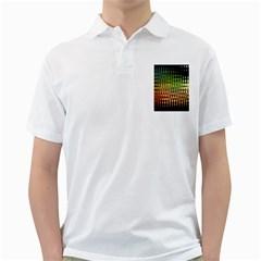 Triangle Patterns Golf Shirts