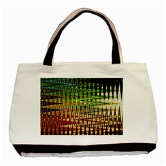Triangle Patterns Basic Tote Bag (Two Sides)