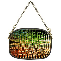 Triangle Patterns Chain Purses (One Side)