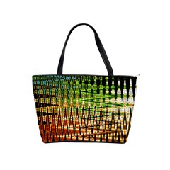 Triangle Patterns Shoulder Handbags