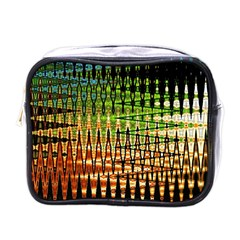 Triangle Patterns Mini Toiletries Bags