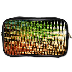 Triangle Patterns Toiletries Bags
