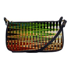 Triangle Patterns Shoulder Clutch Bags