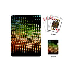 Triangle Patterns Playing Cards (mini)