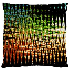 Triangle Patterns Large Cushion Case (One Side)
